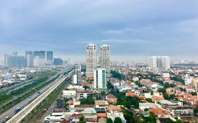 Land and housing in the vicinity of Ho Chi Minh City are fluctuating