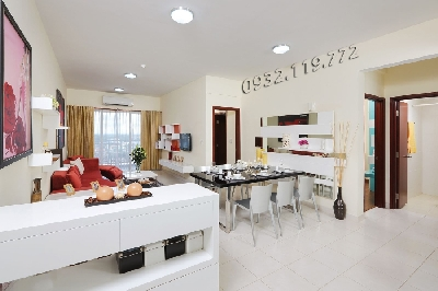 Overview of Amber Court apartments for rent in Bien Hoa