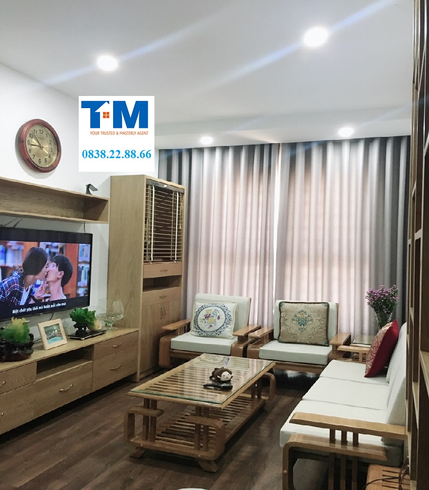 Sơn An apartment for rent, 2 bedroom, nice furniture