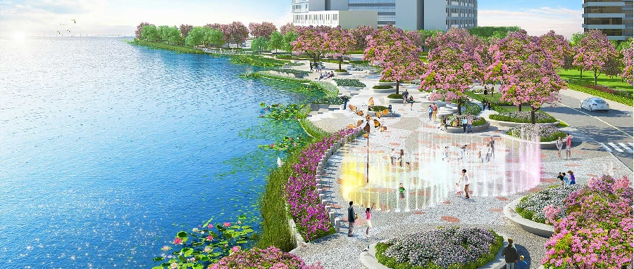 Dat Xanh officially distributes the Opal Riverside project