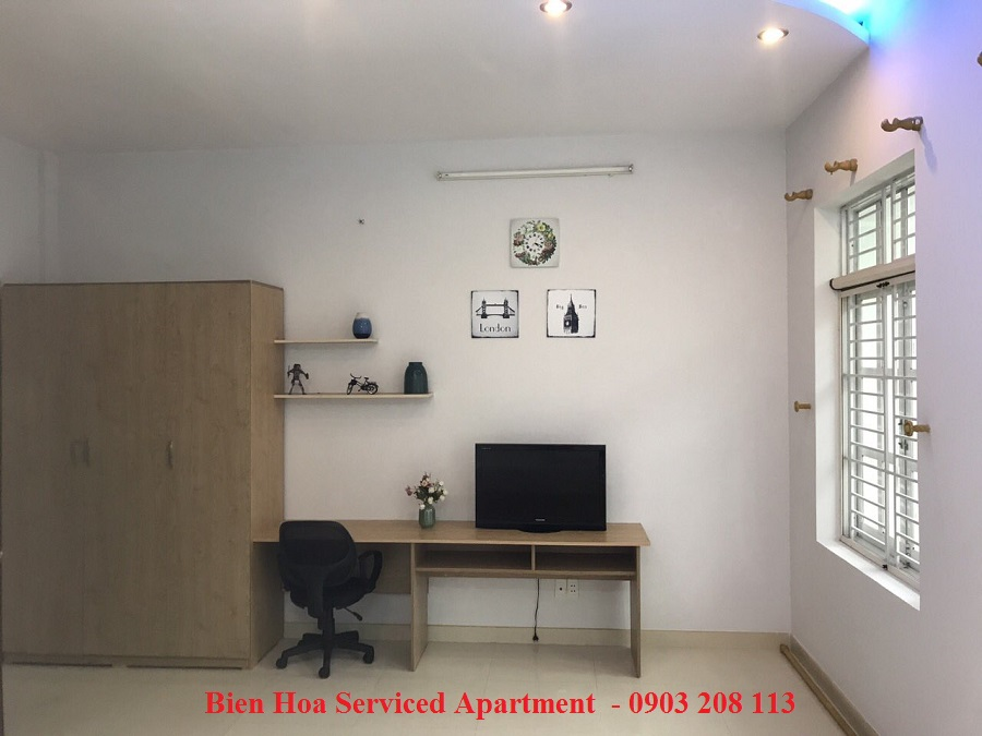One bedroom for rent in Bien Hoa Serviced Apartment