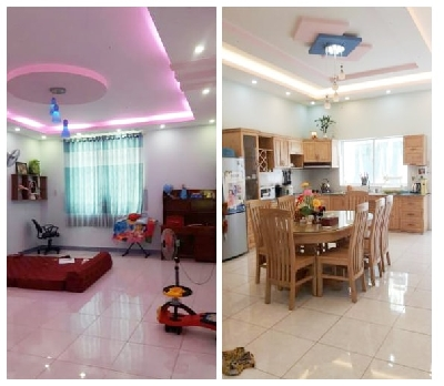 2 floors semi-detached house for rent in Bien Hoa furnished