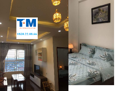 New apartment 2 bedrooms in Son An Plaza for rent, nice furniture