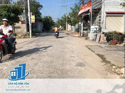 Land for sale on Nguyen Khuyen, p.Trang Dai street - ĐB57.TDA