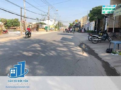 Land for sale on Nguyen Khuyen, p.Trang Dai street - ĐB58.TDA