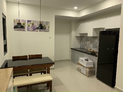 Topaz Twins 1 BR with modern design for rent