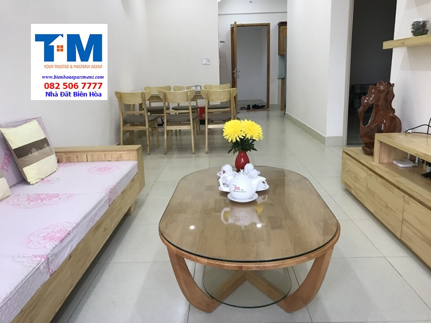 Nice Apartment For Rent In Son An  Bien Hoa City - 2 Bedrooms