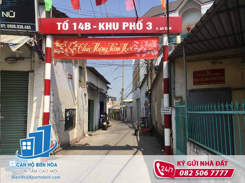 Sell land near Doi market, An Binh ward - NB126
