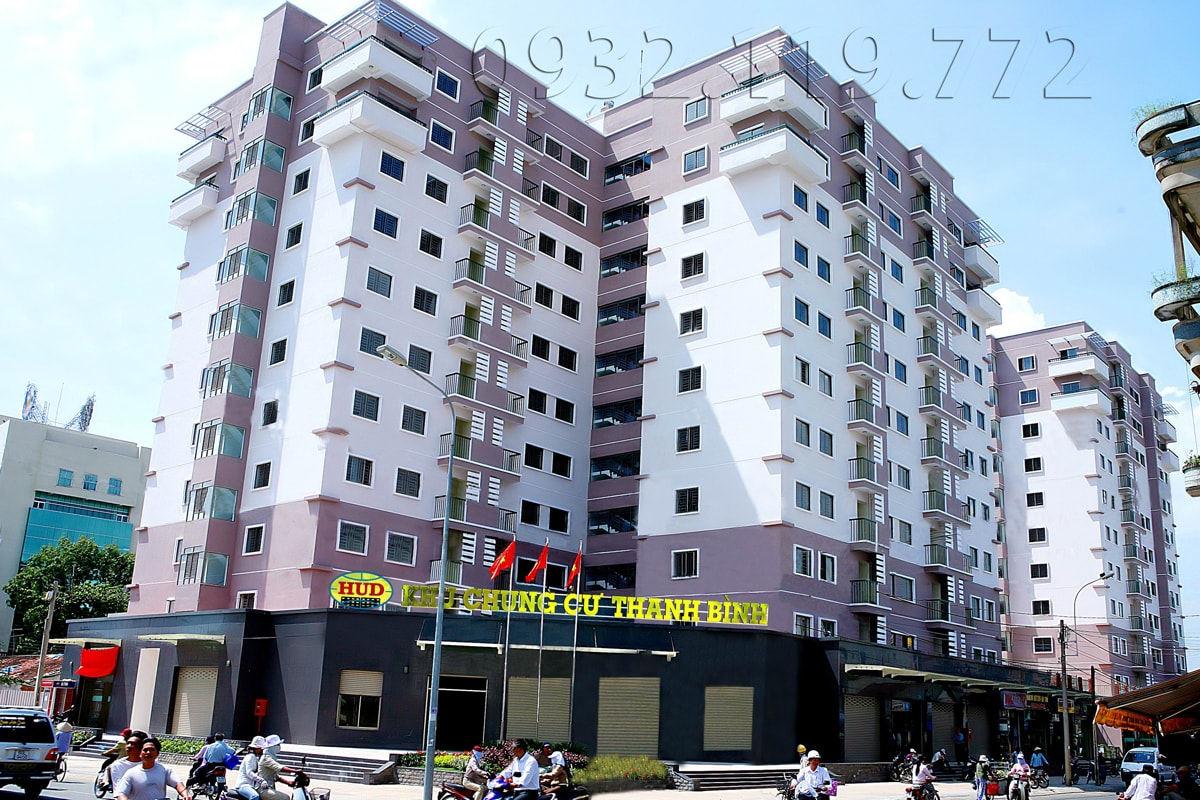 Apartment fo rent in Thanh Binh plaza